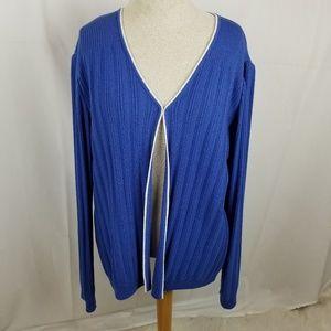 St. John Collection knit cardigan